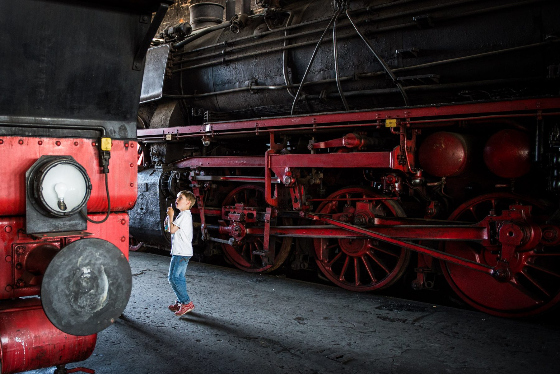 A Burning Passion for Steam Trains – Nick Jaussi