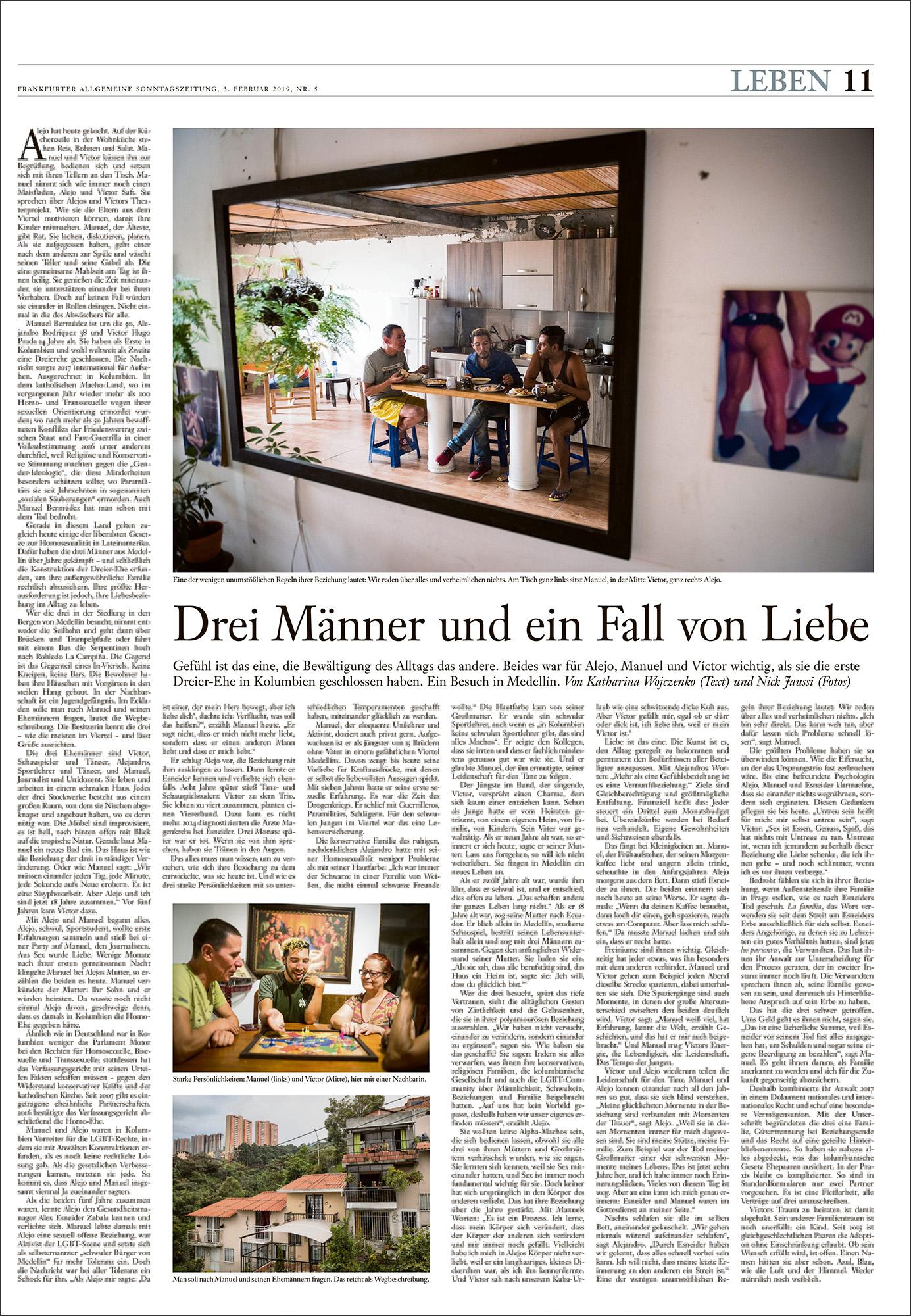 FAS . Frankfurter Allgemeine Sonntagszeitung 03 / 02 / 2019
