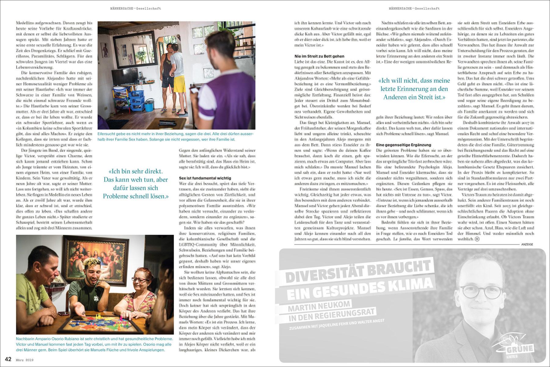 Mannschaft Magazin 02 / 2019